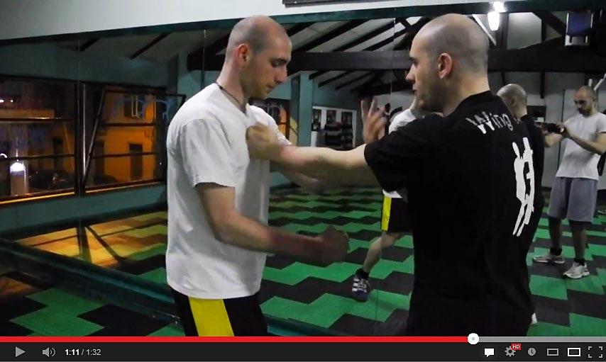 Wing Chun duro - allenamento forza esplosiva e condizionamento al dolore