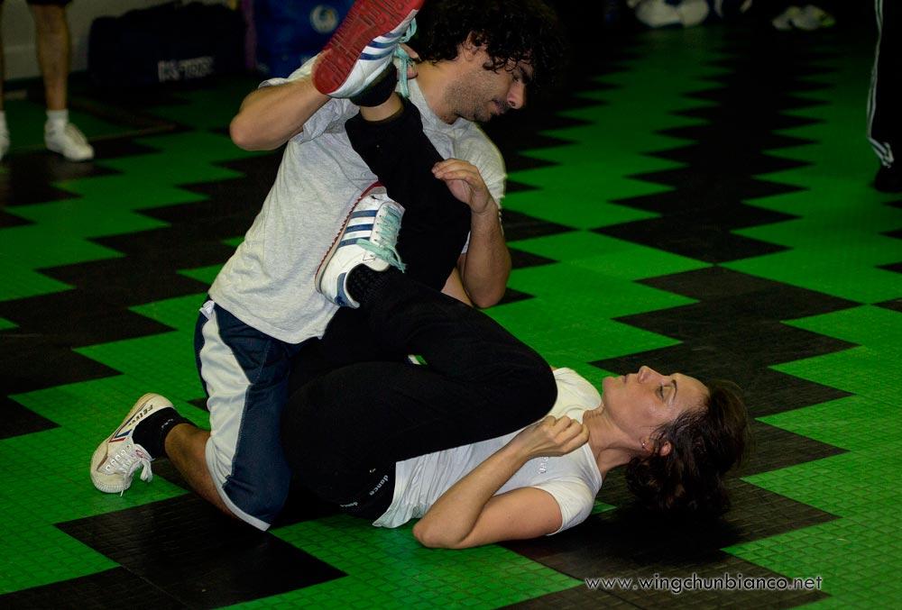 Combattimento a terra: come si comporta il Wing Chun Kung Fu